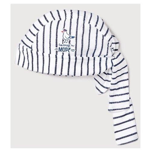 Бандана crockid размер 42-44, темно-синяя полоска на сахаре к242 фото