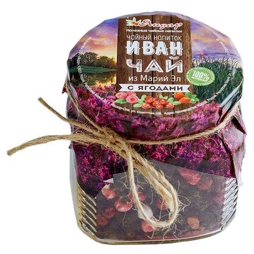 Чайный напиток травяной Яндар Иван-чай из Марий Эл с ягодами, 110 гЧай<br>