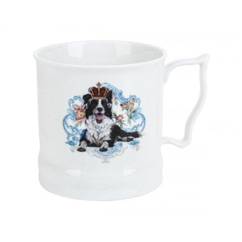 Polystar collection Кружка Королевские собаки L1120049 485 мл белый/синий подставка для ложки polystar collection осень 22 см