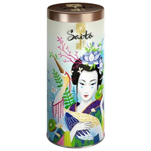Чай зеленый Saito Exotic Jasmine & Kiwi, 80 г фото
