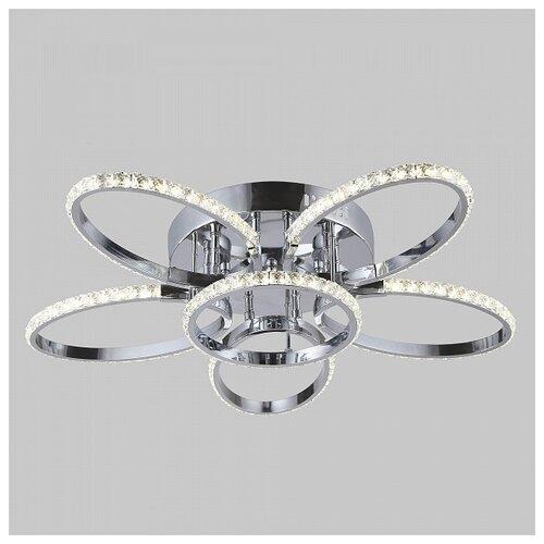 Светильник светодиодный Eurosvet Soul 90098/6 хром, LED, 45 Вт светильник светодиодный eurosvet range 40005 1 кофе led 54 вт