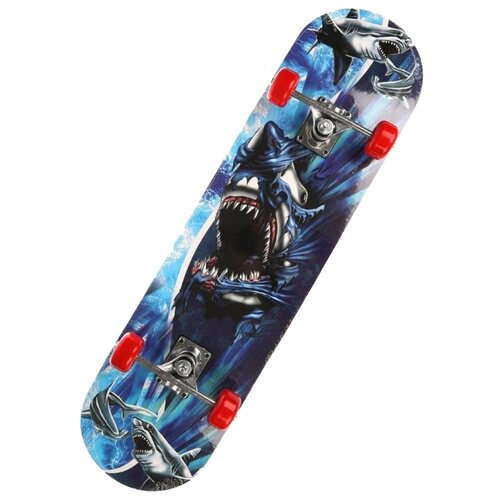 Скейтборд Наша игрушка 636155 синий игрушка