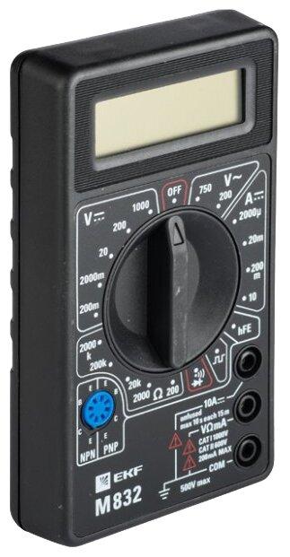 Мультиметр цифровой EKF M832