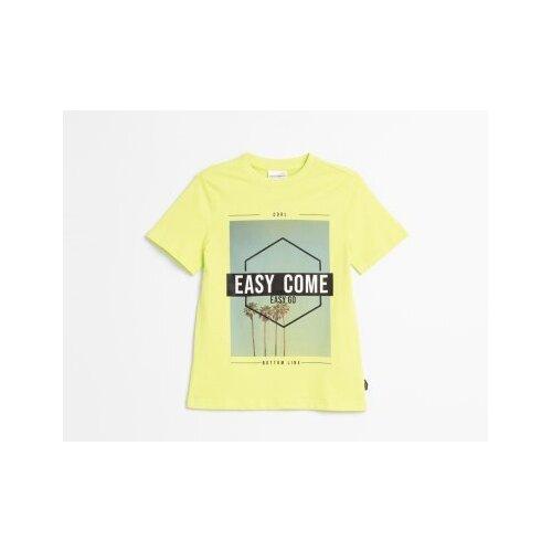 Футболка COCCODRILLO размер 146, зеленый футболка coccodrillo coccodrillo mp002xg00hvs