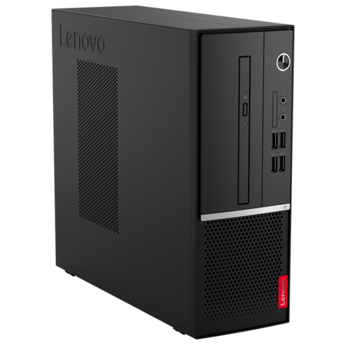 Настольный компьютер Lenovo V530s-07ICR (11BM0049RU) Mini-Tower/Intel Core i3-9100/4 ГБ/256 ГБ SSD/Intel UHD Graphics 630/DOS черный настольный компьютер iru office 313 mt 1175752 mini tower intel core i3 9100f 4 гб 240 гб ssd nvidia geforce gt 710 dos черный
