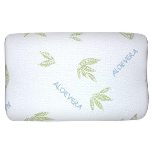 SLEEP DELIVERY Подушка волна с эффектом памяти Алоэ с сеткой 40*60см