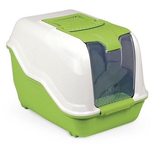 Туалет-домик для кошек MPS Netta 54х39х40 см салатовый