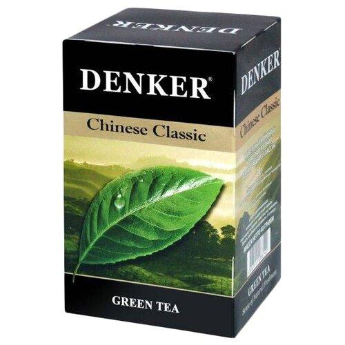 Чай зеленый Denker Chinese Classic в пакетиках, 20 шт. denker mellow citrus черный чай в пирамидках 25 шт