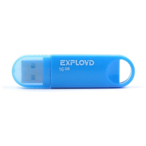 Фото - Флешка EXPLOYD 570 16GB blue флешка exployd 570 8gb white