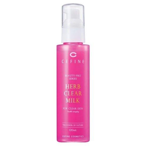 Cefine молочко-пилинг для лица Beauty-Pro Series Herb Clear Milk Очищающее 120 мл