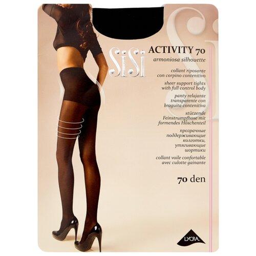 Колготки Sisi Activity 70 den, размер 3-M, nero (черный) колготки sisi activity 70 den