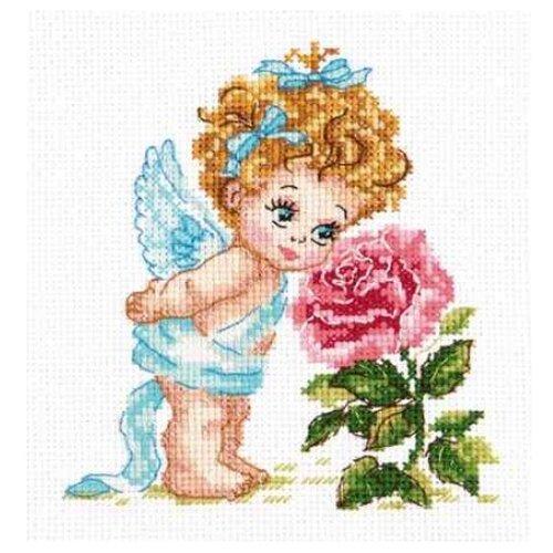 Чудесная Игла Набор для вышивания Ангел нашего счастья 12 х 14 см (35-09) набор для вышивания крестом чудесная игла утопаю в любви 13 х 12 см