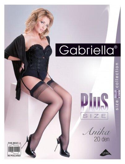 Чулки Gabriella Anika Plus Size, 20 den — купить по выгодной цене на Яндекс.Маркете