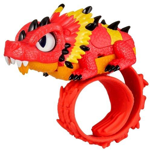 Купить Робот Moose Little Live Pets Рептилия Ящерица 28991 красный/желтый, Роботы и трансформеры