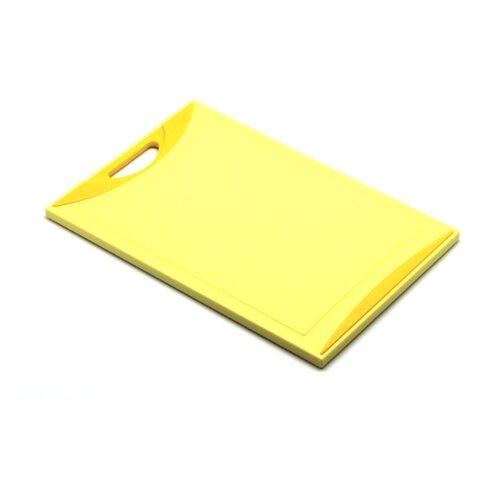 Разделочная доска Atlantis VOLTA 37х25 см желтый