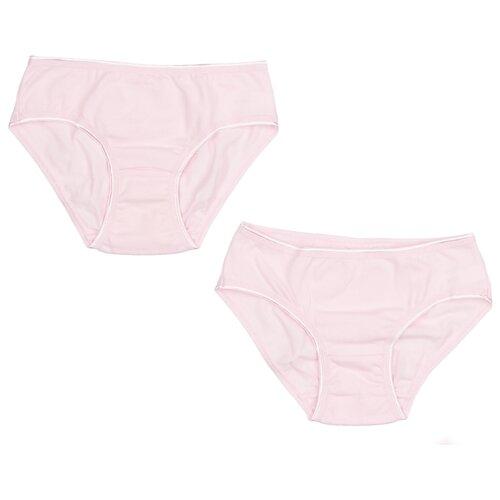 Трусики ЛуноКот 2 шт., размер 140, бледно-розовый трусики лунокот размер 116 бледно розовый