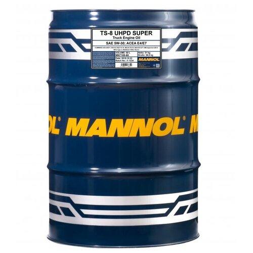 Моторное масло Mannol TS-8 UHPD Super 5W-30 60 л