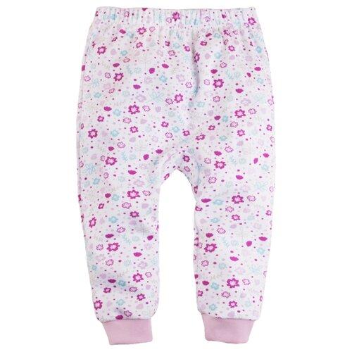 Ползунки Bossa Nova размер 92, белый/розовый джемпер детский bossa nova цвет розовый 207б 181 размер 86 92