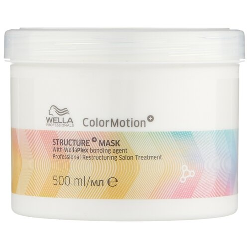 Wella Professionals COLOR MOTION Маска для интенсивного восстановления окрашенных волос, 500 мл wella professionals color motion structure intense restructuring mask for colored hair