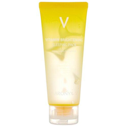 Aronyx Тонизирующая ночная маска с витамином С, 100 мл