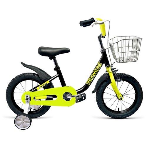 цена на Детский велосипед FORWARD Barrio 14 (2019) черный (требует финальной сборки)