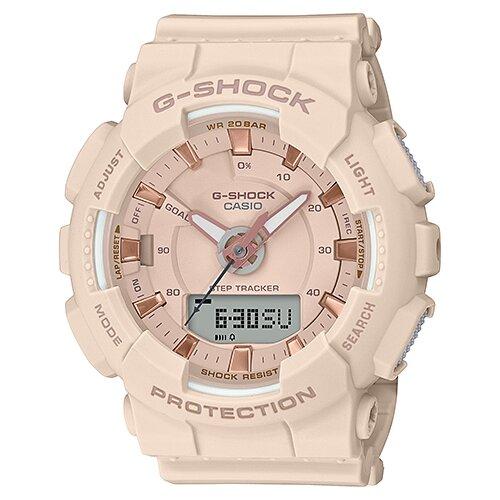 цена Наручные часы CASIO GMA-S130PA-4A онлайн в 2017 году