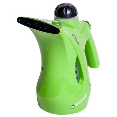 Отпариватель ENDEVER Odyssey Q-410/Q-411/Q-412/Q-413, зеленый/черный отпариватель ручной endever odyssey q 411 800вт емкость 0 6л зеленый