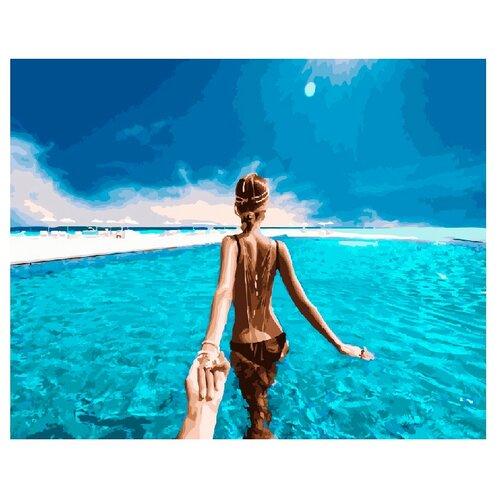 Купить ВанГогВоМне Картина по номерам Следуй за мной. Мальдивы. , 40х50 (ZX 20690), Картины по номерам и контурам