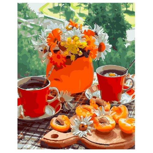 ВанГогВоМне Картина по номерам Осенний завтрак, 40х50 см (ZX 21403) вангогвомне картина по номерам осенний вальс 40х50 см zx 21314