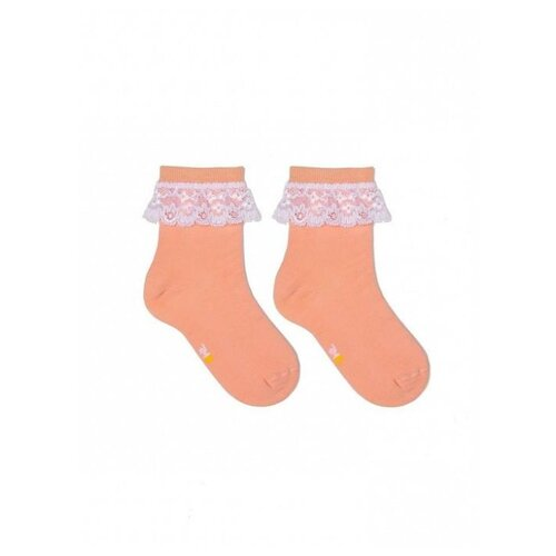 Носки КОТОФЕЙ размер 16, роз-ора