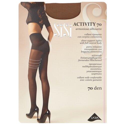 Колготки Sisi Activity 70 den, размер 3-M, daino (коричневый) колготки sisi activity 70 den