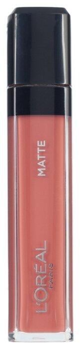 L'Oreal Paris Infaillible Mega gloss Безупречный блеск для губ матовый