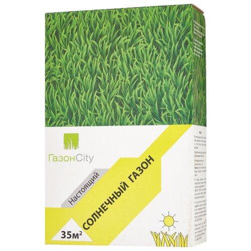 ГазонCity Настоящий Солнечный газон, 1 кг газон изумрудный ковер гавриш 0 6 кг