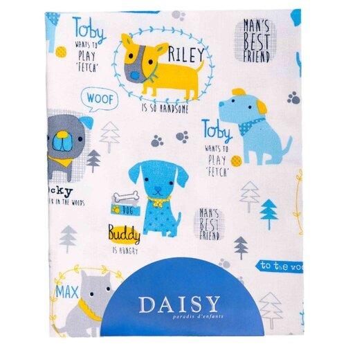 Купить Многоразовые пеленки Daisy хлопок 90x150 собачки, Пеленки, клеенки