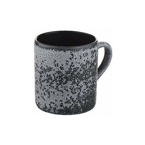 Кружка Борисовская керамика Млечный путь, 350 мл, черный