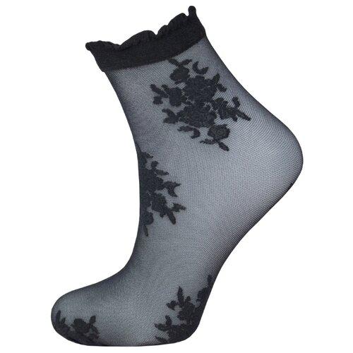 Капроновые носки Trasparenze Araja (c), размер Unica, nero T