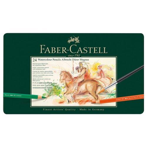 Faber-Castell Карандаши акварельные Albrecht Durer Magnus, 24 цвета (116924) a durer albrecht durers unterweisung der messung