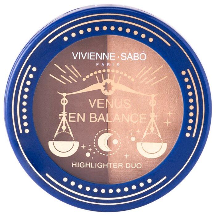 Купить Vivienne Sabo Палетка для скульптурирования лица Venus en Balance 01 по низкой цене с доставкой из Яндекс.Маркета