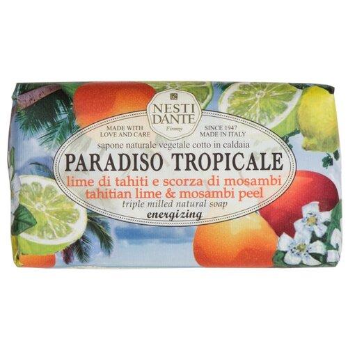 Купить Мыло кусковое Nesti Dante Paradiso Tropicale Tahitian Lime and Mosambi Peel, 250 г