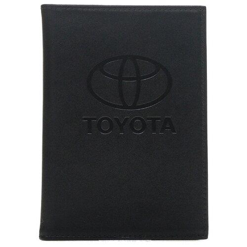 FR-BS01-BL15 Бумажник вод.станд.с пл.карм.черн. Toyota