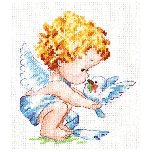 Чудесная Игла Набор для вышивания Светлый ангел 12 х 14 см (35-13) набор для вышивания крестом чудесная игла утопаю в любви 13 х 12 см