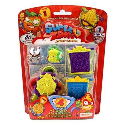 Купить Игровой набор Magicbox Toys SuperZings 7843, Игровые наборы и фигурки
