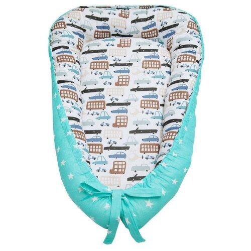 Купить Позиционер для сна Amarobaby Little Baby Трасса, Покрывала, подушки, одеяла