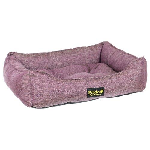 Лежак для собак PRIDE Прованс 52х41х10 см фиолетовый