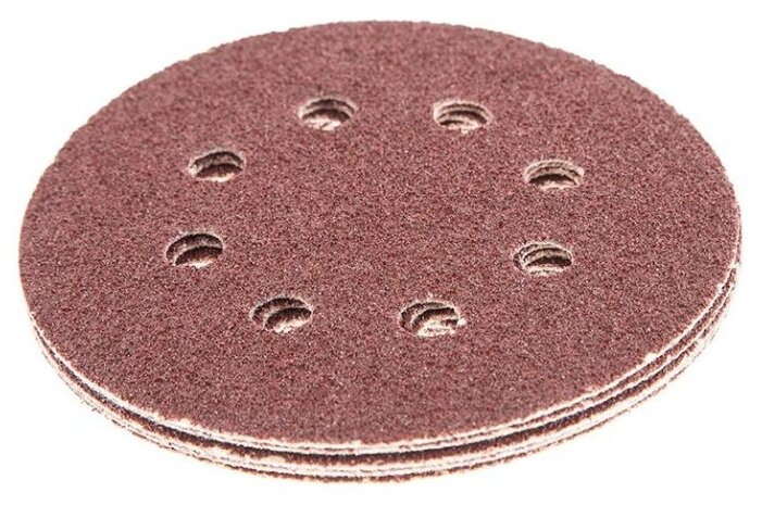 Шлифовальный круг на липучке Hammer 214-001 125 мм 5 шт