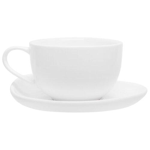 Tudor England Кофейная пара Royal White 90 мл белый