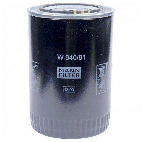 Масляный фильтр MANNFILTER W940/81