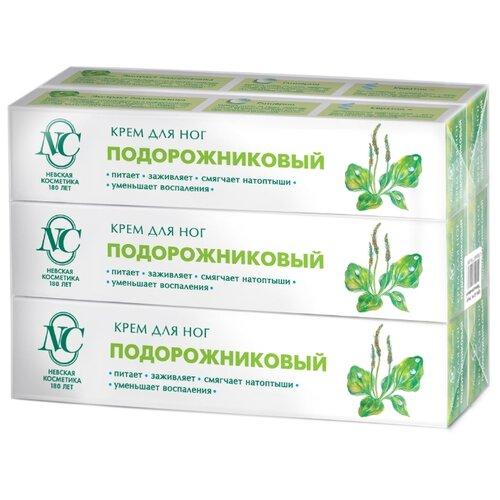 Крем для ног Невская Косметика Подорожниковый 50 мл (6 шт в наборе)