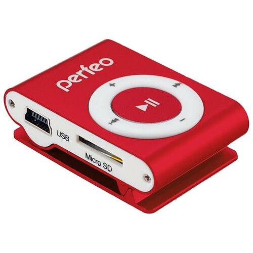 Плеер Perfeo VI-M001 0Gb красный