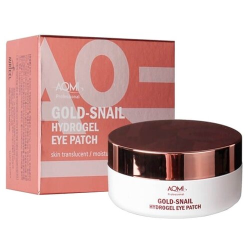 Aomi Гидрогелевые патчи для глаз Gold Snail Hydrogel Eye Patch (60 шт.) hydrogel eye patch gold mosmake